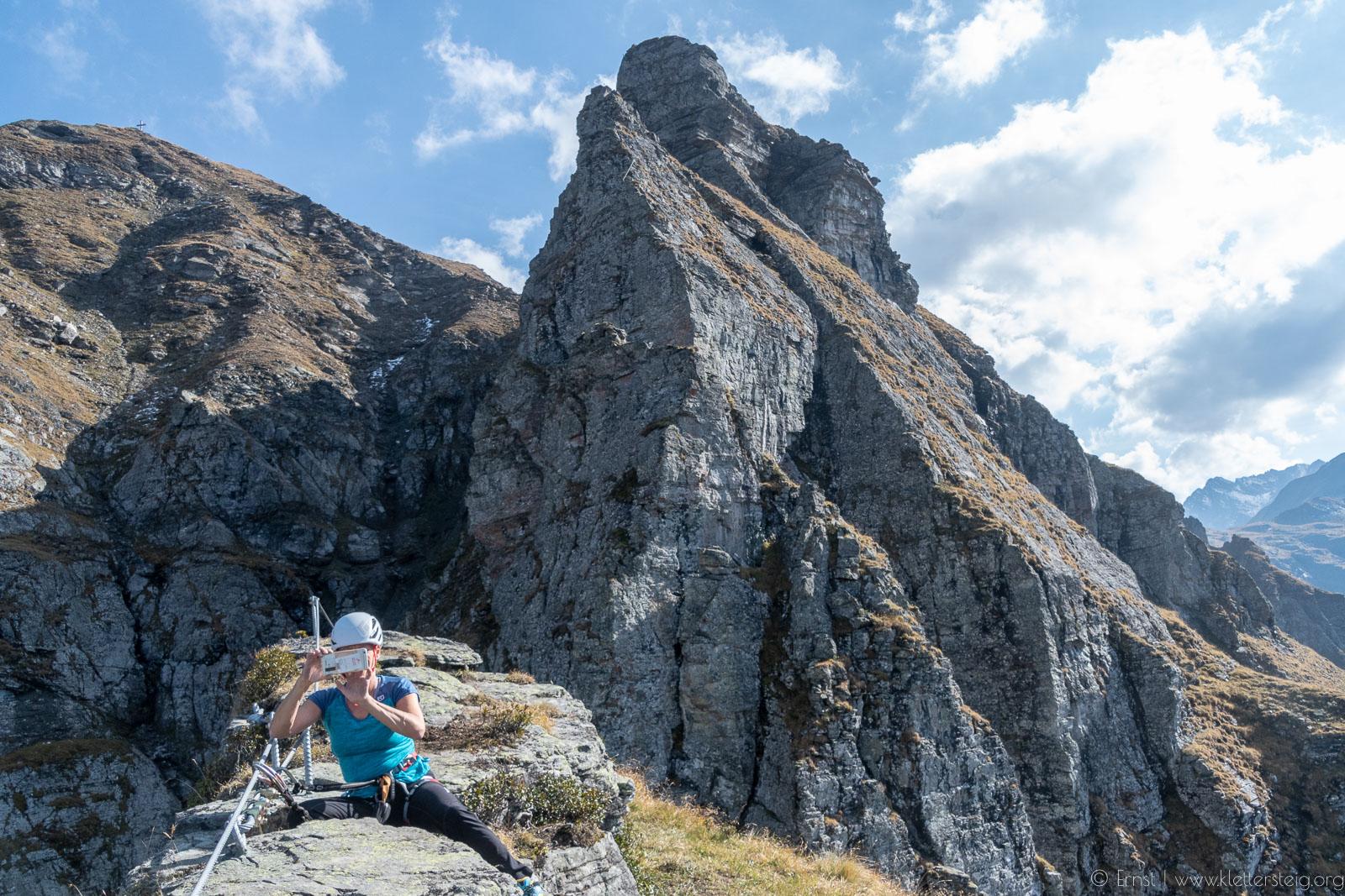 Klettersteig Madrisella : Madrisella und burg klettersteige montafon alpine anlagen für